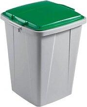 DURABLE Durabin 90 Mülleimer 90,0 grau, grün