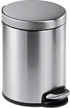 DURABLE Mülleimer 5,0 l edelstahl