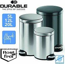 Durable Treteimer Metall 12 Liter | Design