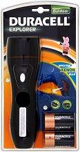 Duracell Flash Explorer Taschenlampe schwarz