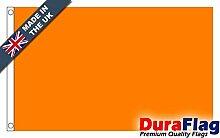 DuraFlag® Ebene Orange Super Qualität Flagge