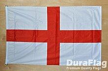 Duraflag Fahne/Flagge St. George mit D-Ringen, 1,5