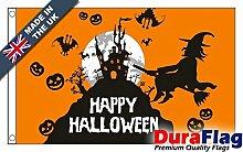 DuraFlag® Halloween Orange Super Qualität Flagge
