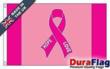 DuraFlag® Pink Ribbon Super Qualität Flagge