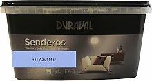 Duralval Wandfarbe, 4 l, blau