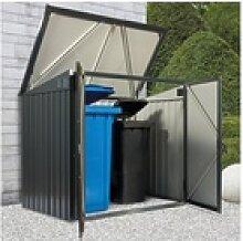 DURAMAX Mülltonnenbox, BxTxH: 154x96x131 cm
