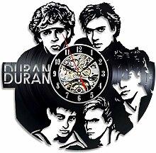 Duran Duran Wanduhr, Vinyl, Geschenkidee für