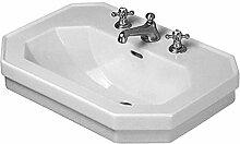 Duravit 1930–Waschbecken 60cm C00weiß