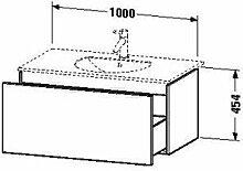 Duravit dl623308585Waschtisch Waschbecken für