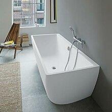 Duravit DuraSquare Vorwand-Badewanne mit