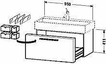 Duravit fo955604747Waschtisch Waschbecken 950x