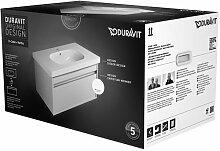 Duravit kt006302222–Set Badmöbel Waschplatz + Unterschrank weiß glänzend