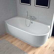 Duravit Luv Raumspar-Badewanne mit Verkleidung L: