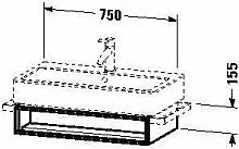 Duravit VE600606969Waschtisch Waschbecken für