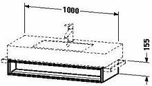 Duravit VE601402222Waschtisch Waschbecken für