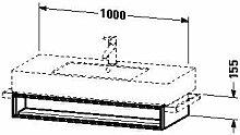 Duravit VE601406969Waschtisch Waschbecken für