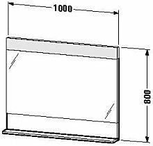 Duravit ve730300303-Spiegel Ablage 1000x