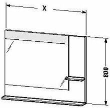 Duravit ve732008686–Spiegel Ablage rechts