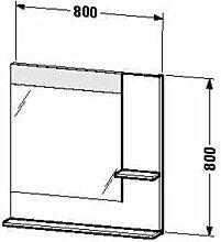 Duravit ve732101414–Spiegel Ablage rechts