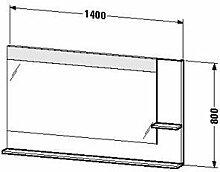 Duravit ve732400303-Spiegel Ablage rechts