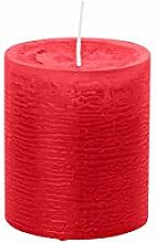 durchgefärbte Stumpenkerzen Rustik Kerzen (H x