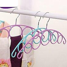 durchnässten-Kunststoff-Kleiderbügel/ Seide/Harz Kunststoff Kleiderbügel einfache Wäscheständer/[Einfache Trockengestelle]-A