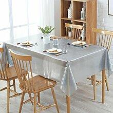 Durchsichtige Kunststoff tischdecken rechteck,Wasserdicht Einweg Tischdecken,Pvc tischdecke-C 137x220cm(54x87inch)