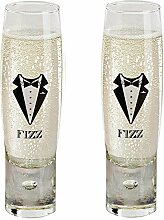 Durobor Alternato Bubble Base Champagnergläser,
