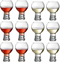 Durobor Alternato Kurzstieliges Weinglas