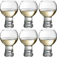 Durobor Alternato Weinglas mit kurzem Stiel, 540
