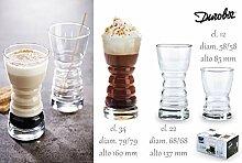 Durobor Barista Kaffeeglas 220ml, für