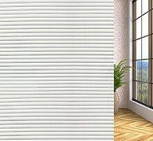 DURORY Fensterfolie Sichtschutzfolie Kleber Selbstklebend Dekorativ Glas Fenster Statisch Folie Anti-UV Folie 90x200CM