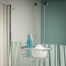 Duschablage ClearAmbient Farbe: Edelstahl