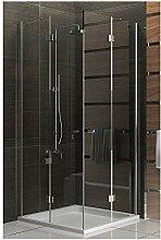 Duschabtrennung 100x100 Trennwand Duschwand