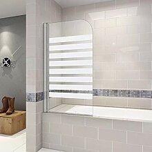 Duschabtrennung Badewannenaufsatz 70x130x140cm