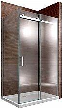 Duschabtrennung EX806-Kombi Dusche Schiebetür