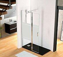 Duschabtrennung im italienischen Stil, Glas mit
