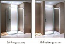 Duschabtrennung mit Schiebetür Nano Echtglas