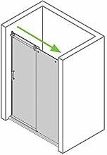 Duschabtrennung Schiebetür 110x200, Dusche
