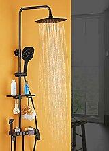 Duscharmatur mit Digitalanzeige, Wandmontage,