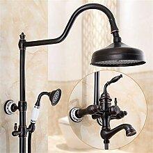 Duscharmaturen, antike kreative Dusche, Badezimmer