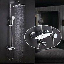 Duschbad Duschset Messing Duscharmatur mit
