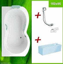 Duschbadewanne Wannenträger Excenter ⇒ AKTION