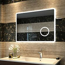 Duschdeluxe LED Spiegel Badspiegel Beleuchtung
