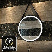 Duschdeluxe LED Spiegel Runder Badspiegel