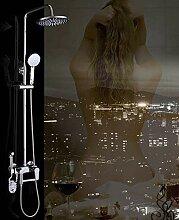 Dusche Badezimmer Set Messing hergestellt