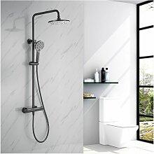 Dusche Duschsystem mit Thermostat, 2 Funktionen