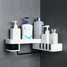 Dusche Kunststoff Ablagekorb Badezimmer Eckregal