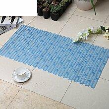Dusche Matte/Badezimmer-matten/Anti-schleudern Badvorleger-C 40x80cm(16x31inch)