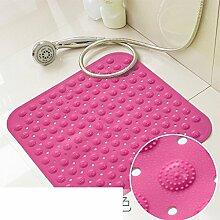 Dusche Matte/Geschmacklos Badematte/Badematten/Badezimmer-matten Für Den Hausgebrauch/Saug-tasse Pad-F 54x54cm(21x21inch)
